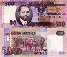 """MOZAMBIQUE 500 Meticais, 2017, P153b, UNC, """"Wild Water Buffalo"""" - Mozambique"""