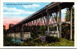 Georgia Augusta Sand Bar Ferry Bridge - Augusta