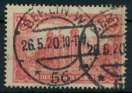 DEUTSCHES REICH 1920 INFLATION Nr A 113a Gestempelt Gepr X8990BE - Duitsland