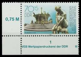 DDR 1989 Nr 3266 Postfrisch ECKE-ULI X0E401A - Ungebraucht