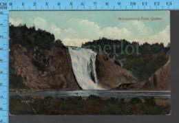Montmorency Falls - Quebec -Montmorency Falls  - Pub. Valentine & Sons - Postcard Carte Postale - Québec - Les Rivières