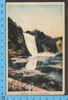 Montmorency Falls - Quebec -Montmorency Falls  - Pub. No Name - Postcard Carte Postale - Québec - Les Rivières