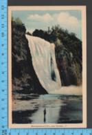 Montmorency Falls - Quebec - Montmorency Falls  - Pub. Peco #7- Postcard Carte Postale - Québec - Les Rivières