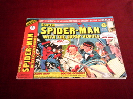 SUPER  SPIDER  MAN  WITH THE SUPER HEROES  N° 180  (1976 ) - Marvel
