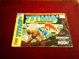 THE TITANS  STARRING  THE FANTASTIC FOUR  DOOMSDAY ON THE MOON N° 41  JULY 28  1976 - Marvel