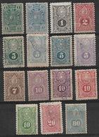 1884-7 Paraguay 15v. - Paraguay
