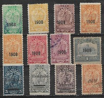 1908-9 Paraguay 12v. - Paraguay