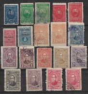 1924-7 Paraguay 19v. - Paraguay