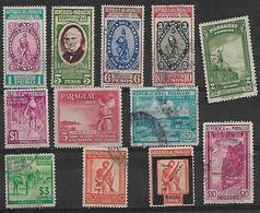 1940 Paraguay 12v. - Paraguay