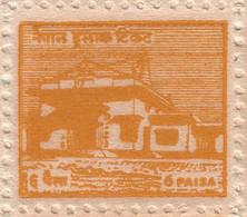 LUMBINI TEMPLE 6-Paisa STAMP Sheet NEPAL 1958 MINT MNH - Buddhism