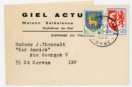 ORNE BJ TARIF A 0,07 FRANC 1970 LA FERTE MACE - 1961-....