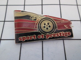 1016a Pin's Pins / Beau Et Rare / THEME : AUTOMOBILES / FERRARI ROUGE SPORT ET PRESTIGE - Ferrari