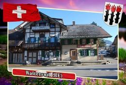 Postcard, REPRODUCTION, Municipalities Of Switzerland, Walterswil (BE) - Landkaarten