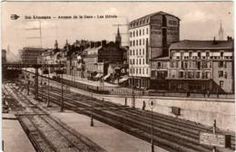 4NTH 838 CPA - LIMOGES - AVENUE DE LA GARE - LES HOTELS - Limoges