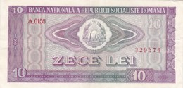 Roumanie - Billet De 10 Lei - 1966 - Rumänien