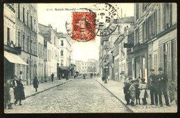 St Mandé 94 Rue Plisson 1907 Gondry Très Animée - Saint Mande