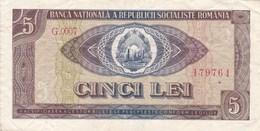 Roumanie - Billet De 5 Lei - 1966 - Rumänien