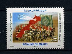 Maroc ** N° 1465 - 32e Ann.  De La Marche Verte - Maroc (1956-...)