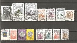 Selection Of 15 Used Defintive Stamps From Armenia, Belarus, Georgia, Lithuania, Russia. - Briefmarken