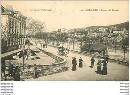 WW 15 AURILLAC. Brocanteurs à L'Entrée Du Gravier 1909 - Aurillac