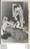 WW NUS NU SEXE. Carte Trio Pornographique érotisme Avec Pénétration... Photo Carte Postale Impeccable Et Vierge - Artistieke Naakt (1960-…)