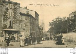 WW 43 LANGEAC. Animation Place Des Capucins 1914 - Langeac