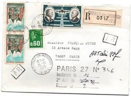 Cheilly-les-Maranges 1975 - Lettre Recommandé Avec Griffe Et étiquette + Cachet De Mise En Instance - 1961-....