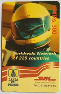 37SLRC DHL Rs500 - Sri Lanka (Ceylon)