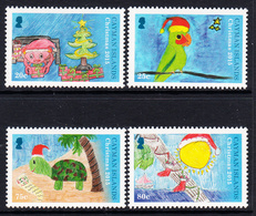 2015 Cayman Islands Christmas Noel Complete Set Of 4 MNH - Kaimaninseln