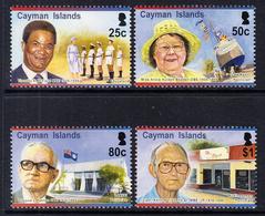 2015 Cayman Islands Politicians Education Complete Set Of 4 MNH - Kaimaninseln