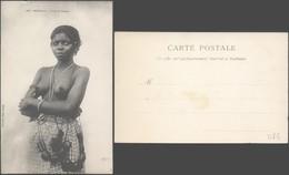 Carte Postale - Sénégal - Fille De Dakkar (Femme Seins Nus) / Fortier Photo (n°226), Neuve. - Senegal