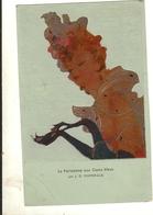 75 - J - G -  DOMERGUE - La Parisienne Aux Gants Bleus (édt GUIBERT FRERES Les Maitres Du Gant Millau ) 235 - Unclassified