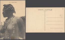 Carte Postale - Afrique : Femme Maure (414), Femme Seins Nus (A. Albaret, Dakar) - Afrika