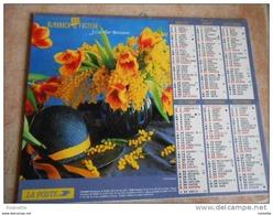 Almanach La Poste-j.cartier Bresson 2005 - Mimosa, Chapeau, Poivrons, Pommes, Bananes, Radis (voir Descriptif Et Photos) - Calendars