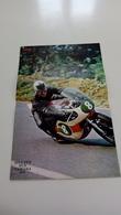 Poster De 1967 Bill Ivy Sur Yamaha 250 - Motos