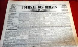 Journal Des Débats 9 Octobre 1936 Guerre Espagne Nationaux S'ouvrent La Route De Madrid,Intervention URSS,SDN - Newspapers