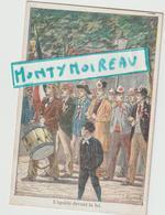 Vieux  Papiers :  Env. 12 Par 8 Cm : Les  Droits De L'  Homme : égalité  Davant La  Loi( Illustrateur P. Méjarrel ) - Dépliants Touristiques
