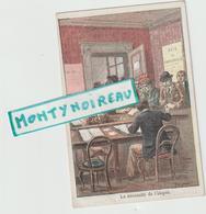 Vieux  Papiers: Env. 12 Par 8 Cm  Les  Droits De L'  Homme :égalité   La  Nécéssité  De  Impot, Illustrateur P. Méjarrel - Dépliants Touristiques