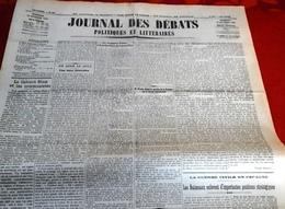 Journal Des Débats 10 Octobre 1936 Guerre Espagne Nationaux Occupent Navalperal Siguenza,Oviedo,Comte Ciano - Journaux - Quotidiens