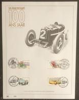 Belgique - FDC - Premier Jour - YT N° 2648 à 2651 - Course Automobile à SPA - 1996 - FDC