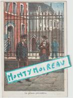 Vieux  Papiers: Env. 12 Par 8 Cm  Les  Droits De L'  Homme : La Prison Préventive , Illustrateur P. Méjarrel - Dépliants Touristiques