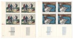 France 3 Blocs De 4 Des N°YT 11363/1364/1365 Cote Totale Yvert 2009 = 56€ Tous NSCH ** MNH - France