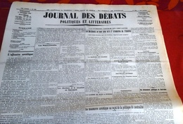 Journal Des Débats 11 Octobre 1936 Guerre Espagne Nationaux 17 Km Escorial,Oviedo,manoeuvre Soviétique Neutralité - Journaux - Quotidiens
