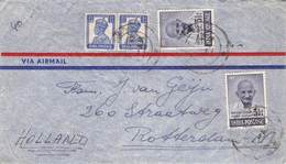 INDIA - AIRMAIL 1948 BOMBAY - ROTTERDAM/NL /ak921 - 1947-49 Dominion