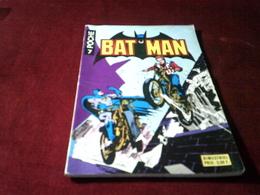 BATMAN  N° 7  LE CASE COU  (1977 ) - Batman