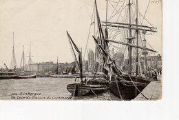 Dunkerque Un Coin Du Bassin Du Commerce (flotille Islandaise, Bateau Feu , Voilier , Leughenaer , Minck . éditeur LV - Dunkerque