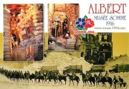 80 - Albert - Musée Somme 1916 - Multivues - Chevaux - Militaria - Camions Militaires - Carte Neuve - Voir Scans Recto-V - Albert