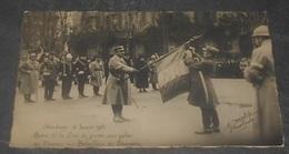 - Strasbourg 15 Janvier 1921 Remise De La Croix Avec Palme Au Drapeau Des Bataillons De Douaniers  ------------ 536 - Strasbourg