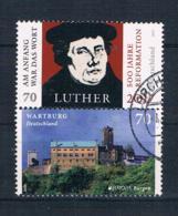 BRD/Bund 2017 Luther/Wartburg Mi.Nr. 3300/10 Zd Gestempelt - [7] República Federal