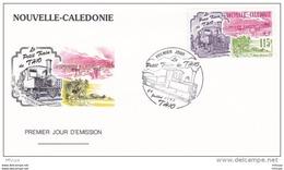 L4Q173 NOUVELLE CALEDONIE 1993 FDC Le Petit Train De T 410 115f Nouméa 24 07 1993 /Env. Illus. - FDC
